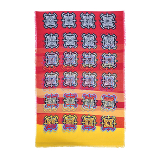 8 Amulet Shawl (Red)