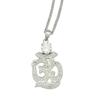 Om Necklace (WG)